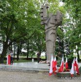 Uroczystości z okazji 78. rocznicy wybuchu II wojny światowej na kamieńskim Cmentarzu Wojennym