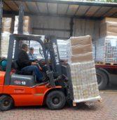 Przyjechały pierwsze tony unijnej pomocy żywnościowej dla potrzebujących