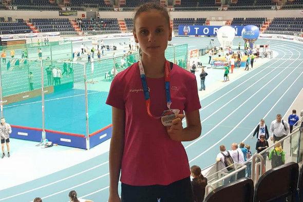 Srebrny medal Anny Rejchert w Toruniu