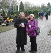 Kwesta na kamieńskim cmentarzu