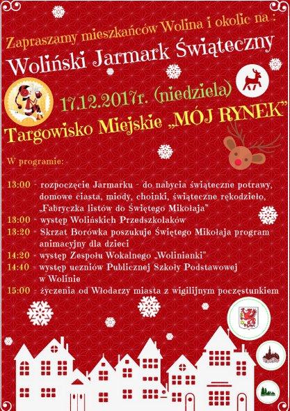 Woliński Jarmark Świąteczny 2017