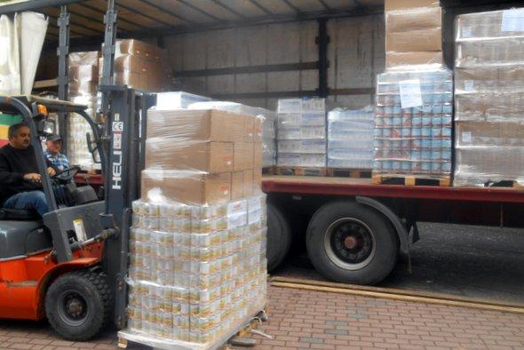 Ostatni transport darów żywnościowych