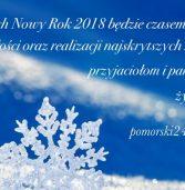 Życzenia na Nowy Rok 2018