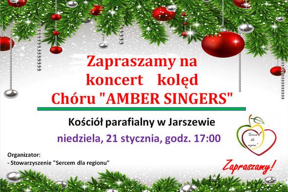 Zaproszenie na koncert kolęd w Jarszewie