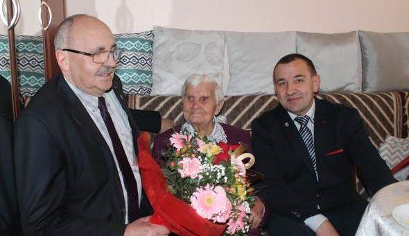 104 urodziny Pani Bronisławy Przybylak