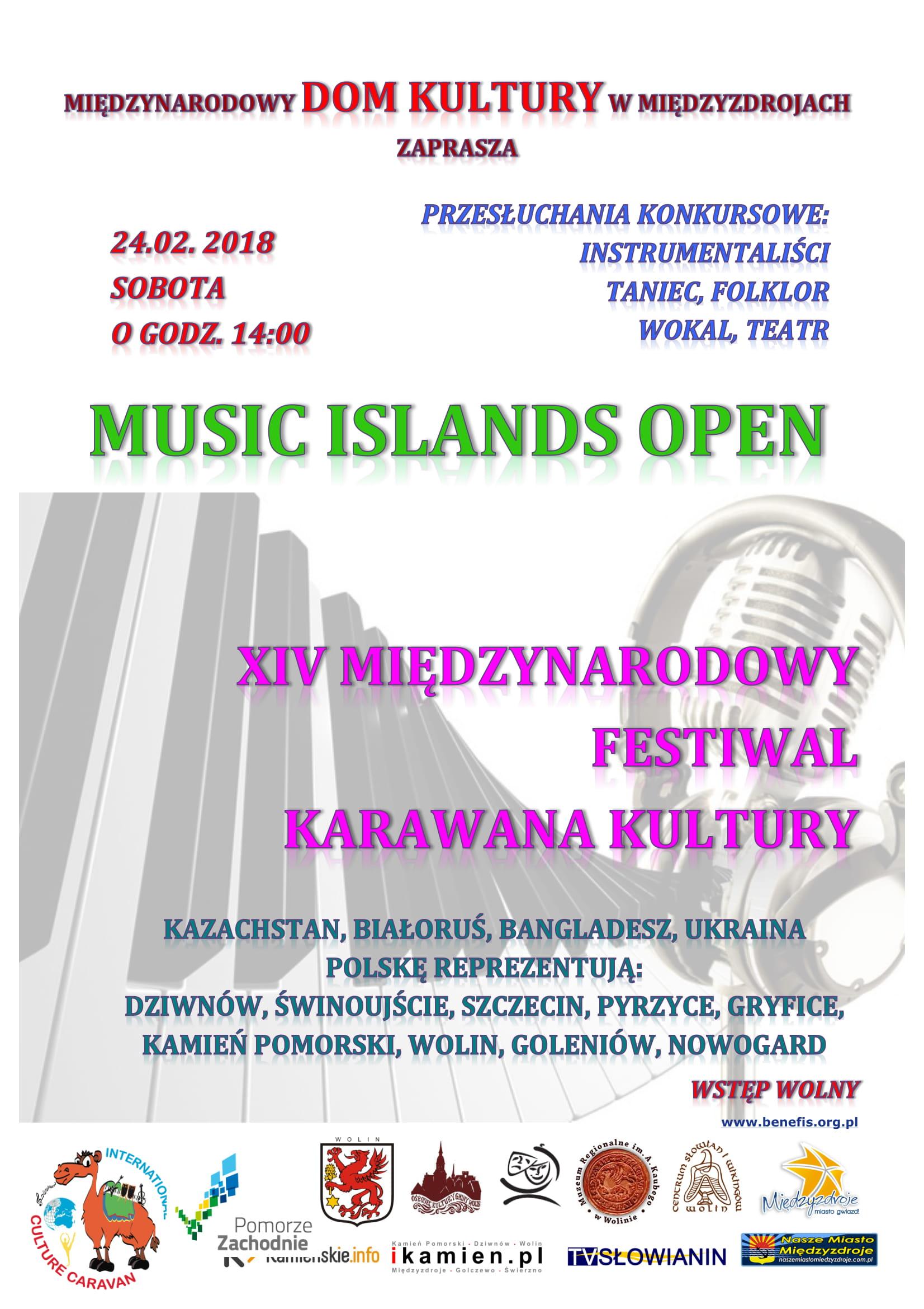Muzyczne wyspy z Karawaną Kultury