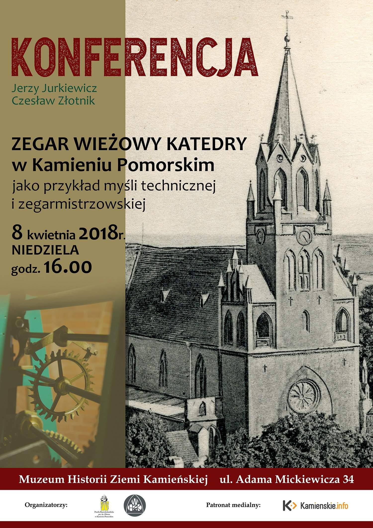 O zegarze kamieńskiej katedry