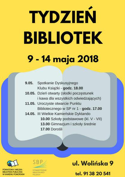 Kamieński Tydzień Bibliotek