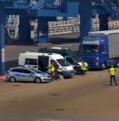Nielegalne odpady w samochodzie  w Świnoujściu – europejska akcja IMPEL  w Zachodniopomorskiem