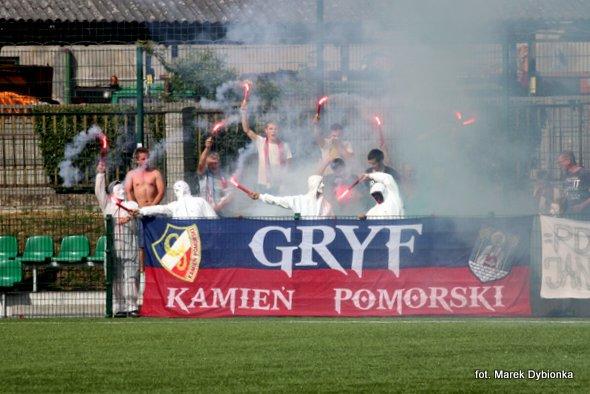 """Kamieński """"Gryf"""" w ostatnim meczu sezonu zaprzepaścił szansę awansu w górę tabeli"""