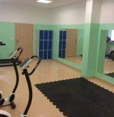Nowa salka fitness w hali sportowej