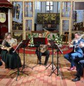 Międzynarodowo na czwartym kamieńskim koncercie w ramach festiwalu organowo – kameralnego