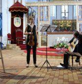 Organy, gitara i skrzypce. Uczta muzyczna młodych wirtuozów.