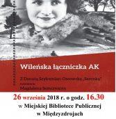 """""""Ocalić od zapomnienia"""", czyli spotkanie  z Danutą Szyksznian-Ossowską """"Sarenką"""""""