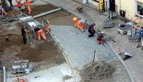 Remont ulicy Garncarskiej już na półmetku!