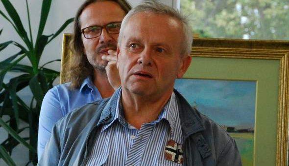 Otwarcie wystawy malarstwa Mirosława Karapyty
