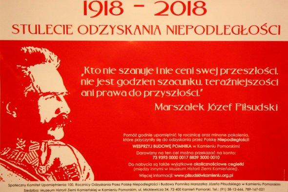 Komunikat w sprawie pomnika Józefa Piłsudskiego