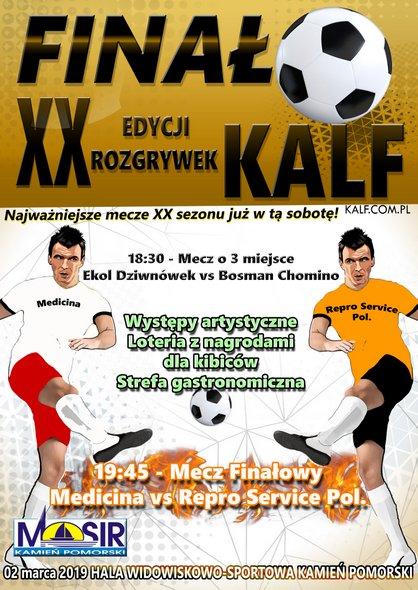 XX Finał Kamieńskiej Amatorskiej Ligi Futsalu
