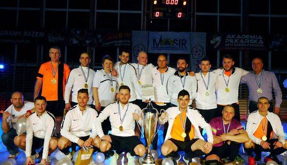 Repro Service Pol. po raz drugi zwycięzcą Kamieńskiej Amatorskiej Ligi Futsalu