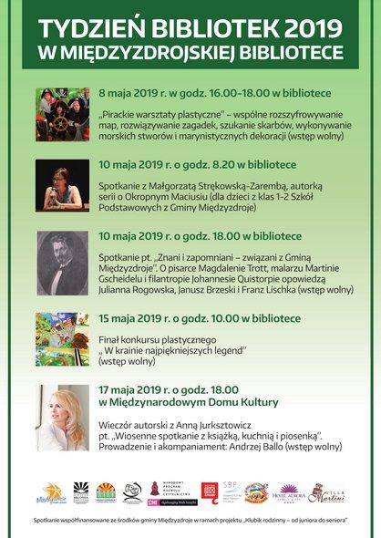 """""""Tydzień Bibliotek 2019 w międzyzdrojskiej bibliotece""""."""