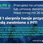 Zerowy PIT dla młodych już od sierpnia 2019 r.