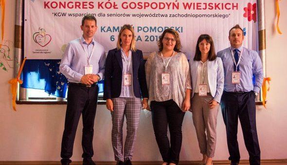Kongres KGW w Kamieniu Pomorskim  o seniorach!
