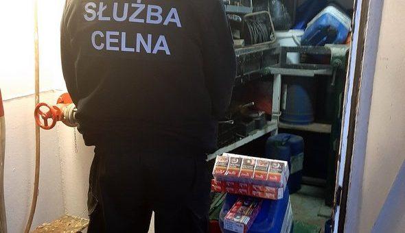 Nielegalne papierosy w szczecińskim porcie