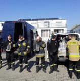 1731 litrów alkoholu do dezynfekcji dla Straży Pożarnej w Szczecinie