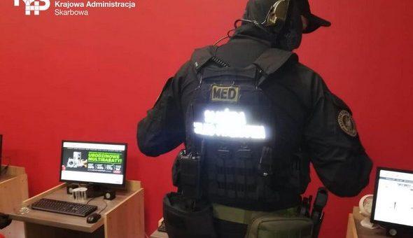 Zachodniopomorska KAS zlikwidowała nielegalny punkt hazardowy w Pyrzycach