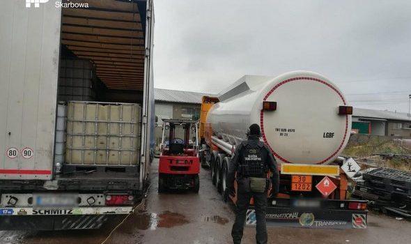 Zachodniopomorska KAS zwalcza obrót nielegalnym paliwem