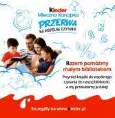 Kinder Mleczna Kanapka – PRZERWA NA WSPÓLNE CZYTANIE