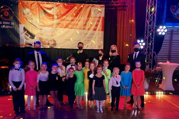 Tancerze Klubu Tańca Sportowego FOCUS na Mistrzostwach i Pucharze Zachodniopomorskiego Związku Tańca Sportowego