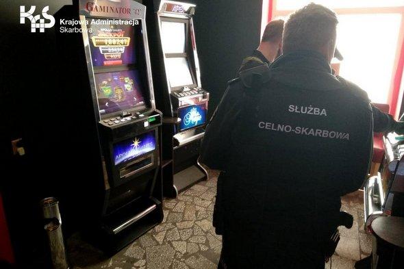 Nielegalny salon gier w Złocieńcu