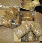 Nielegalny tytoń w przesyłkach kurierskich