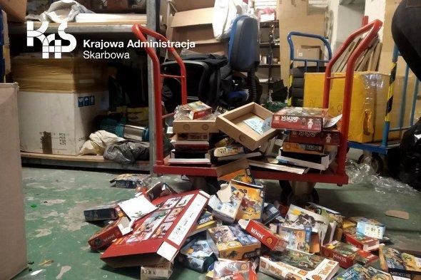 Likwidacja towarów zatrzymanych przez KAS