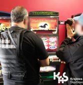 Kolejne nielegalne salony gier hazardowych  w Szczecinie zlikwidowane przez KAS