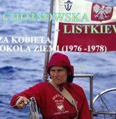 """Kapitan ż. J. Krystyna Chojnowska – Listkiewicz na zawsze odeszła na """"Wieczną Wachtę"""""""