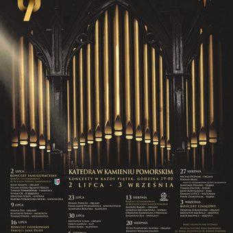 2 lipca rusza 57. Międzynarodowy Festiwal Muzyki Organowej i Kameralnej  w Kamieniu Pomorskim