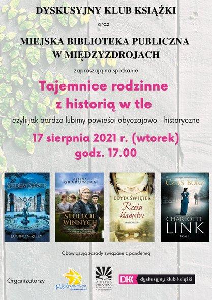 Tajemnice rodzinne z historią w tle – czyli jak bardzo lubimy powieści historyczno-obyczajowe
